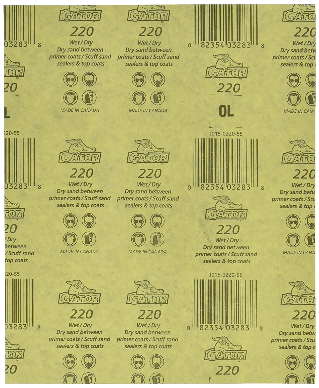 Amazon.com: ALI INDUSTRIES 4241 Sandpaper-Sheets, 9