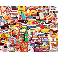 White Mountain Puzzles Things I Ate As A Kid Collage Puzzle - 1000 Piece Jigsaw...