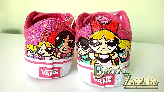 Vans zapatillas personalizadas pintadas a mano Supernenas -regalos de Navidad - regalos para ella - regalos San Valentin: Amazon.es: Handmade