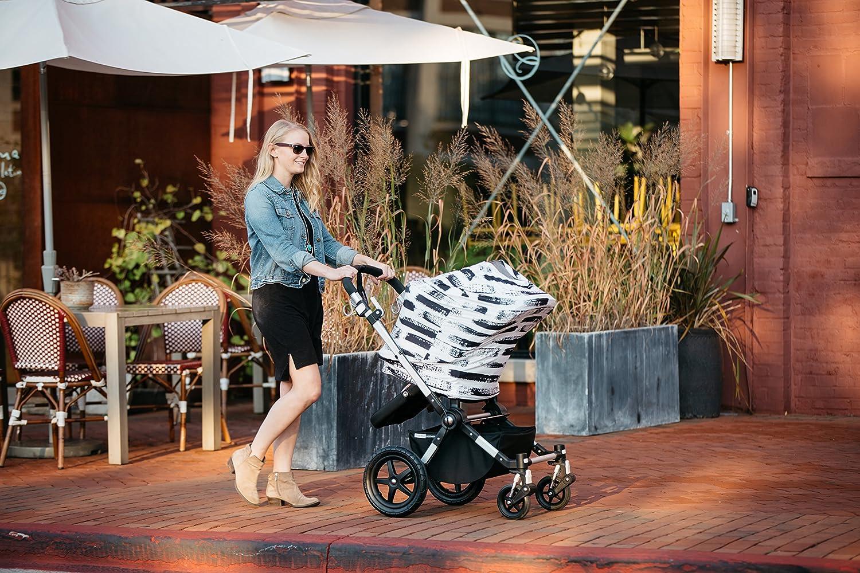 Amazon.com: Bebé asiento de coche cover canopy-multi-use ...