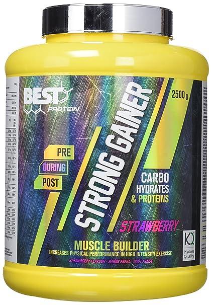 Best Protein Strong Gainer Fresa - 2500 gr