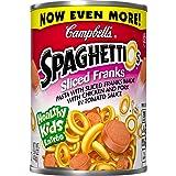 SpaghettiOs Pasta with Sliced Franks, 15.6 Ounce