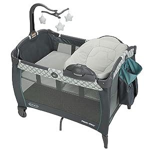 Graco Pack 'n Play Portable Seat & Changer LX Playard, Merrick