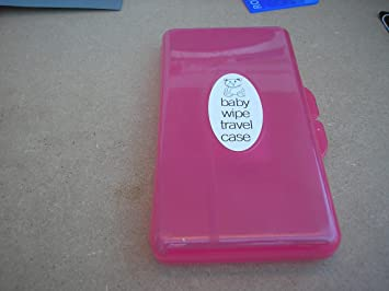Amazon.com : Baby Pipkin and Padgett Bros Baby Wipe Case Carry Along Box Changing Dispenser(Pink) : Baby