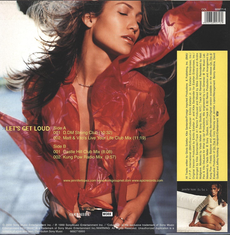 Let S Get Loud 10 32min D Dm Strong Club Vinyl Maxi Single Vinyl 12 Amazon Com Music