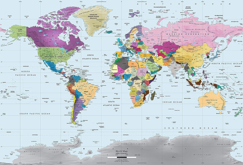 Large World Map Poster,World Map Poster,World Map Wall Art,World Map Decal,World Map Print,World Map Art,World Map Poster Print,World Map