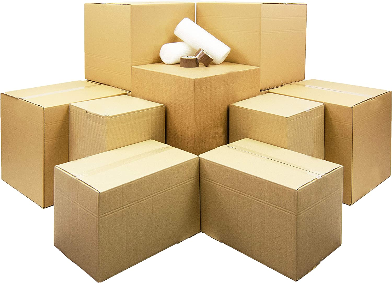 Moving Home Store Kit de mudanza para Estudiantes, 21 Cajas de ...