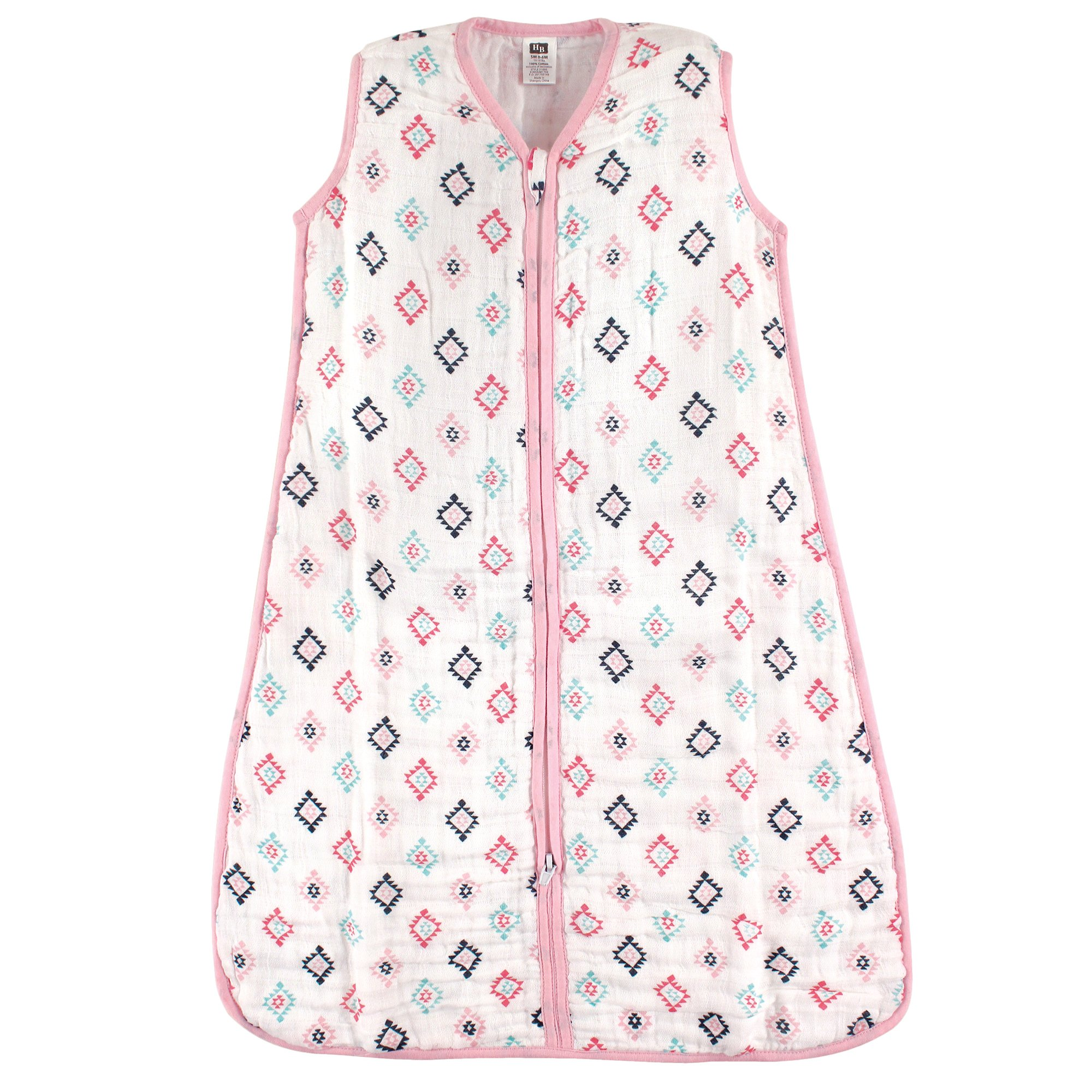 sports shoes 20477 277db Hudson Baby Unisex Baby Safe Sleep Wearable Muslin Sleeping Bag, Girl Aztec  1-Pack, 18-24 Months