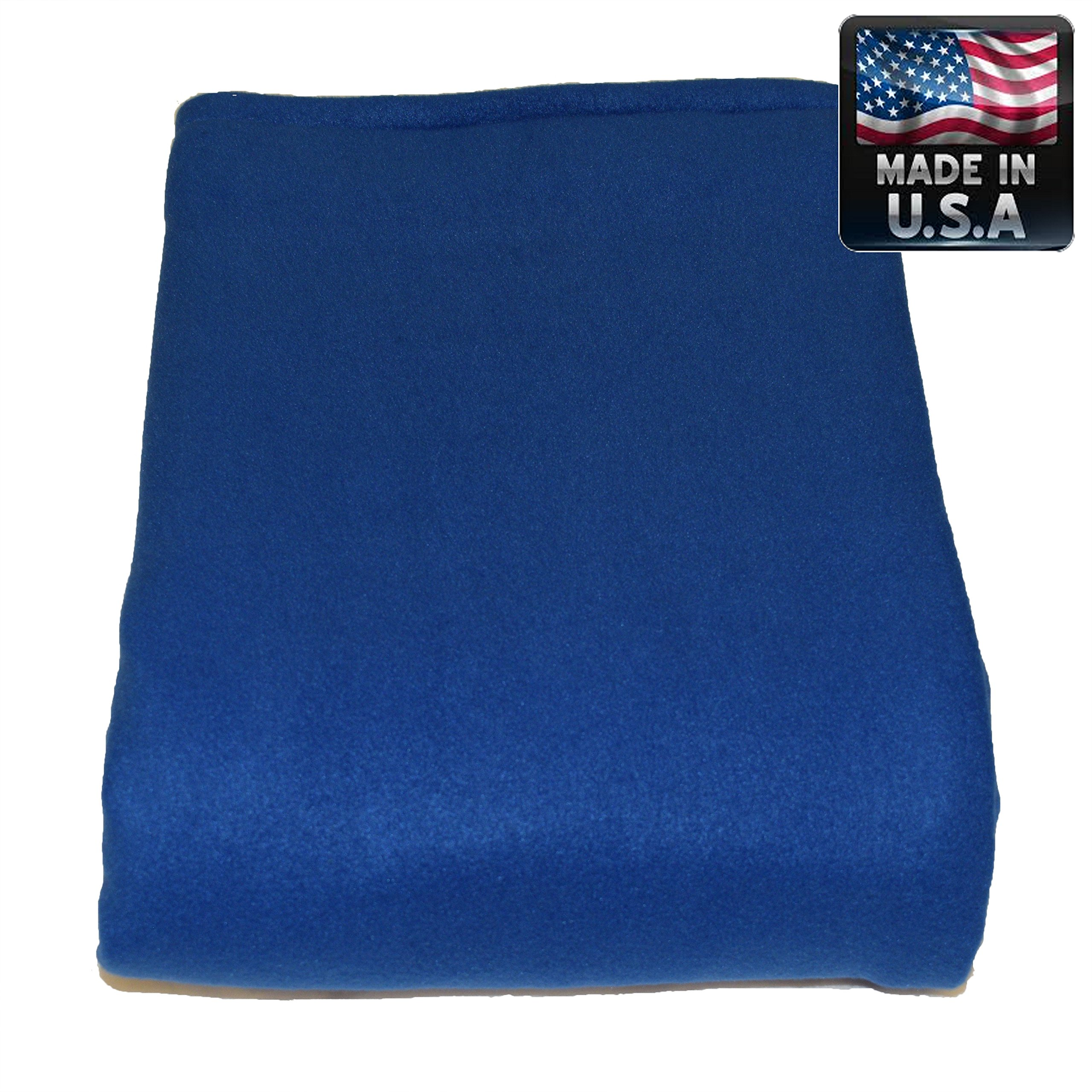 Melissa's Weighted Blankets 21lbs Adult Size Blue Great for Insomnia, Anxiety relief, Autism, Aspergers, SPD, ADHD, and PTSD. Overall stress reliever! Extra Large 80x58'' size