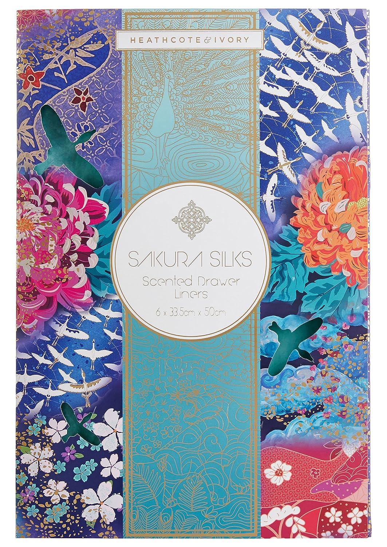 Heathcote & Ivory Sakura Silks Scented Drawer Liners FG8417
