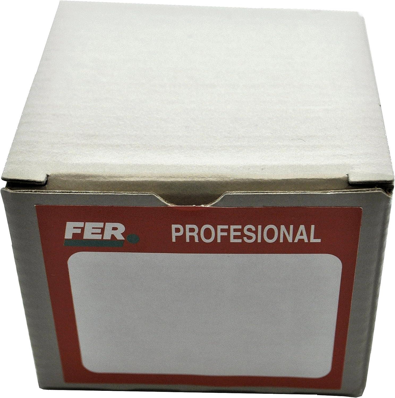 FER 5225 Caja Profesional Cart/ón Punta de Acero Cabeza C/ónica Zincado 2 x 25 mm
