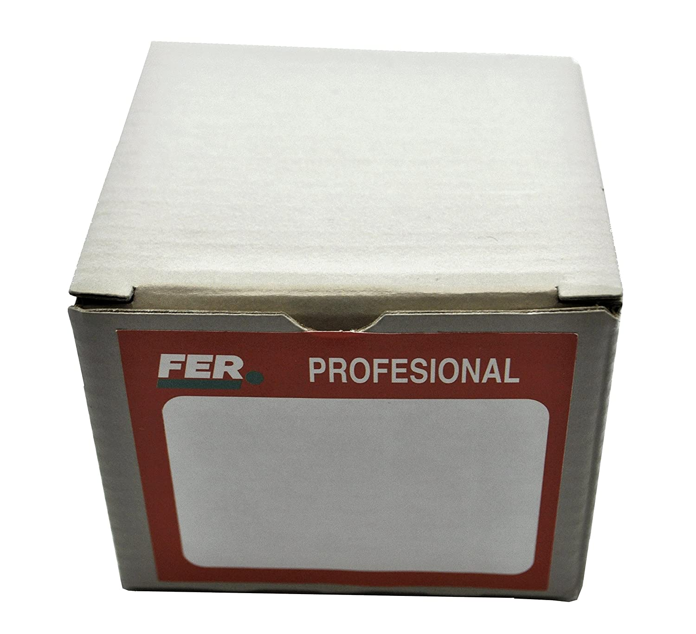 2 x 45 mm FER 5227 Caja Profesional Cart/ón Punta de Acero Cabeza C/ónica Zincado