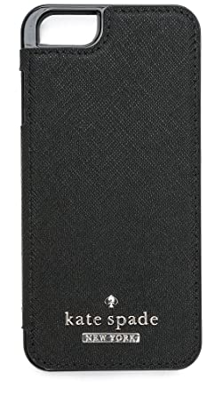newest 81f3b a26da Kate Spade New York Leather Folio iPhone 6 / 6s Case, Black, iPhone ...