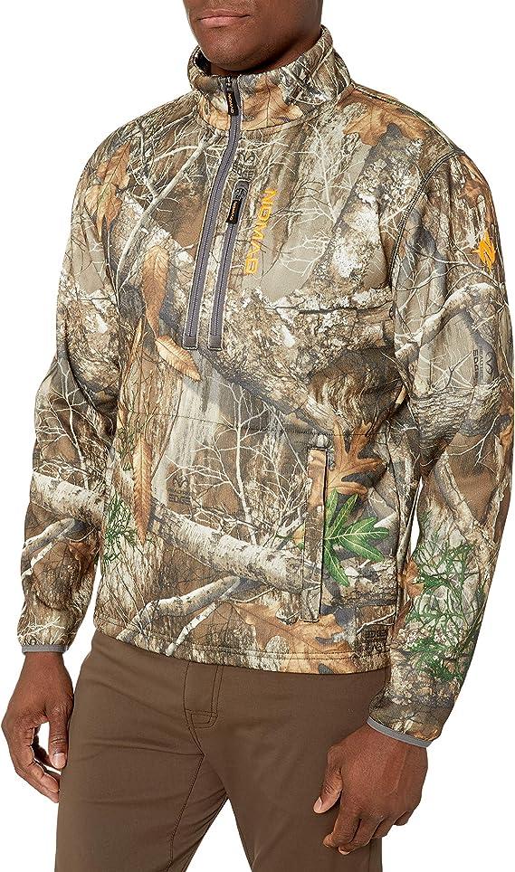 Nomad Cottonwood 1//4 Zip Pullover-Realtree Edge-Medium