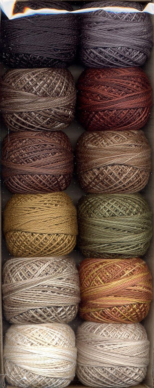 Valdani Size 12 Perle Cotton Embroidery Thread Woodland Babies Collection PC12-WoodlandB