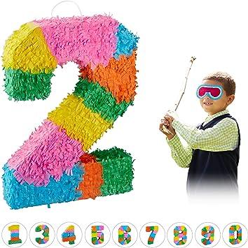 Amazon.com: Relaxdays 10025189_904 - Piñata de cumpleaños ...