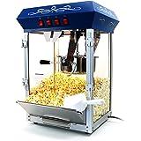 Paramount 8oz Popcorn Maker Machine - New Upgraded Feature-Rich 8 oz Hot Oil Popper [Color: Blue]