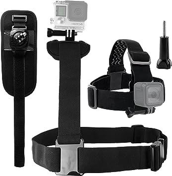 CamKix Arnes de Cuerpo Compatible con GoPro Hero 8 Black, 7, 6, 5 ...