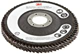 3M Flap Disc 577F, T29, 4-1/2 in x 7/8 in, 40