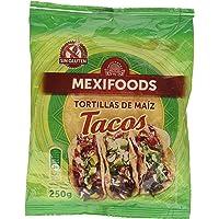 Mexifoods - Tortillas de Maíz para Tacos, 250 g