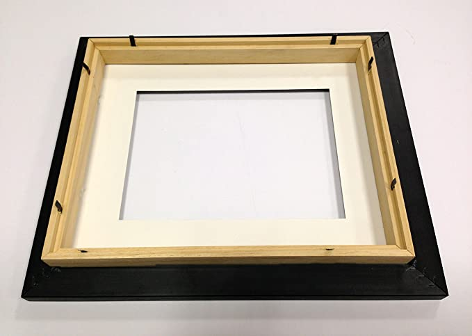 Picture Framing Direct Black and silver 3d Deep Box Frame To Display ...