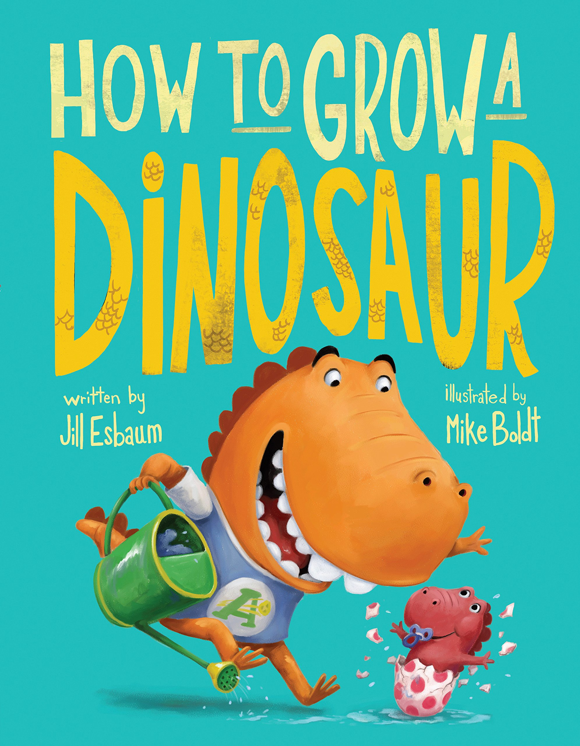 This is an image of a book cover called How to Grow a Dinosaur.