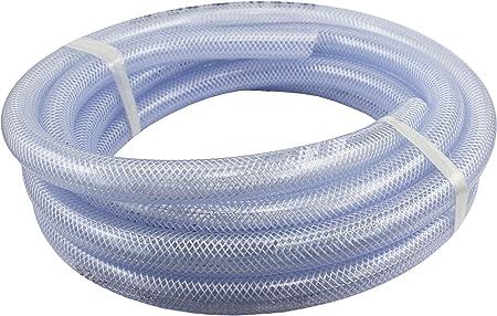 "3//8/"" ID Vinyl Tubing Flexible Industrial PVC UV Chemical Heavy Duty Water Hose"