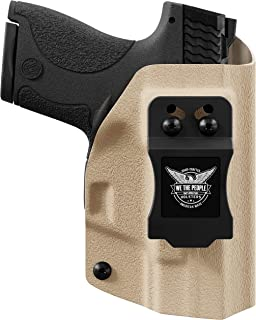 product image for We The People Holsters - Tan - Inside Waistband Concealed Carry - IWB Kydex Holster - Adjustable Ride/Cant/Retention