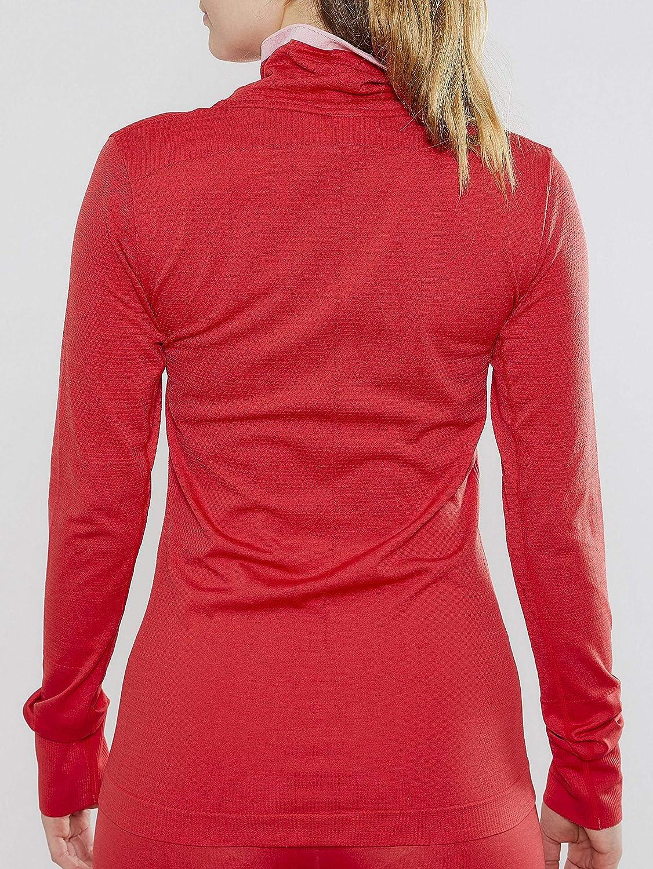 Wei/ß Shirts Craft Damen Fuseknit Comfort Longsleeve Mint