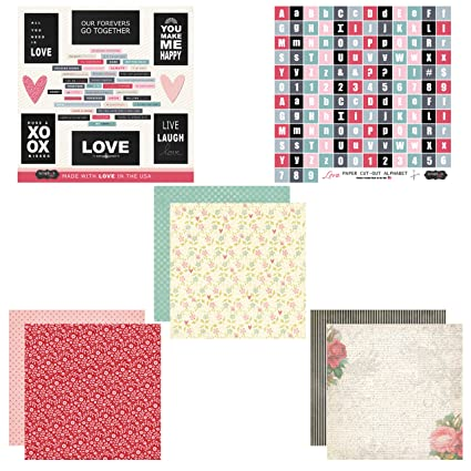 Amazon Scrapbook Customs Themed Paper And Stickers Scrapbook