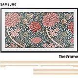 "Samsung QN43LS03RA 43"" The Frame 4K Ultra High Definition Smart QLED TV with a Samsung VG-SCFN43LP 43"" Customizable Beige Bezel for The Frame TV (2019)"