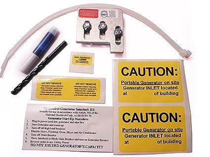 EAT-BR200A Cutler Hammer or Challenger Generator Interlock Kit BR ...