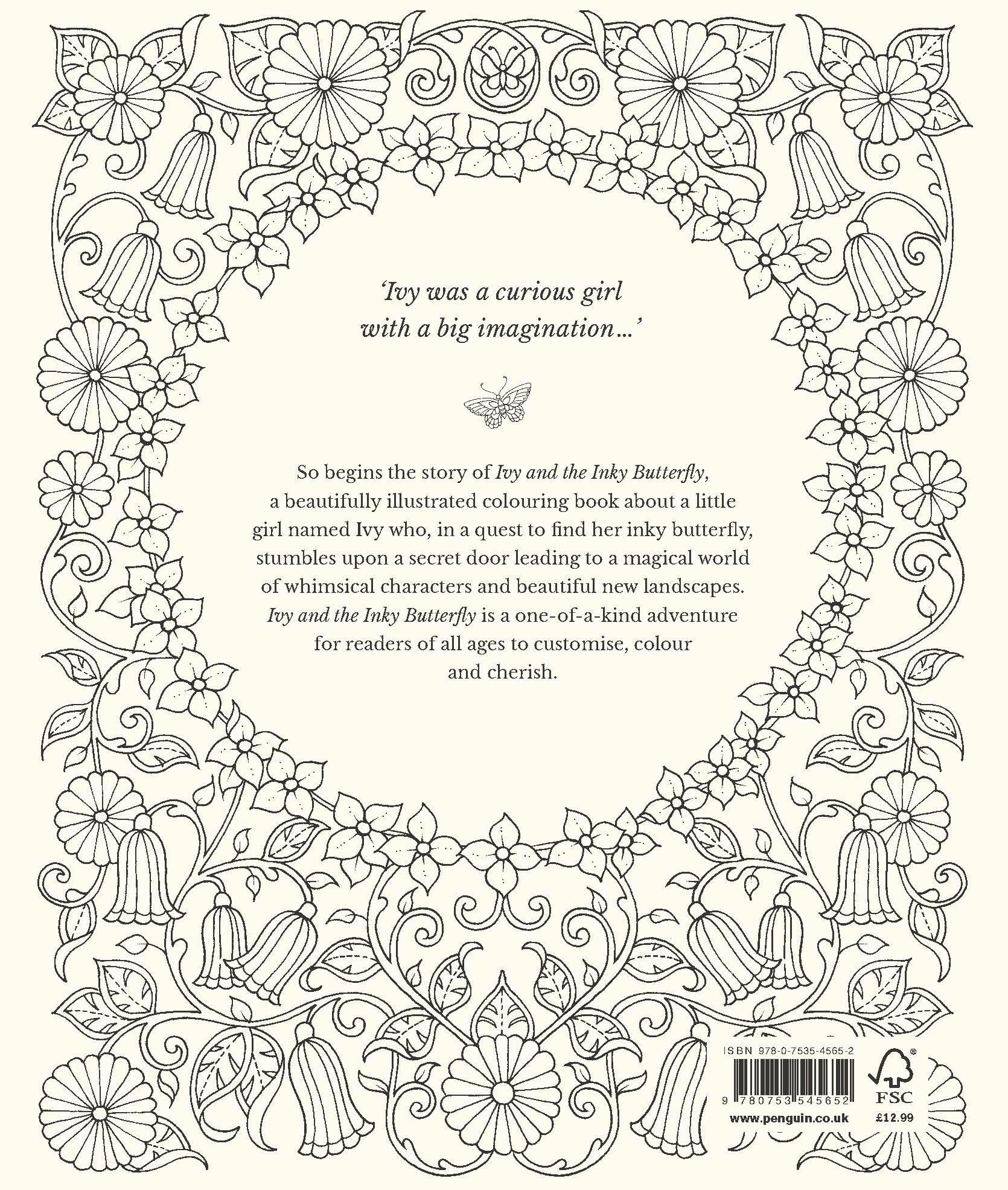 Ivy And The Inky Butterfly Johanna Basford 9780753545652 Amazon Books