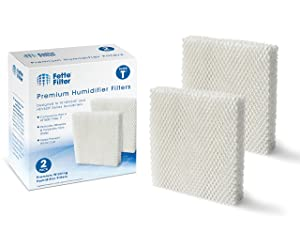 Fette Filter - Humidifier Wicking Filters Compatible with Honeywell HFT600T, HFT600PDQ, Filter T (2-Pack)