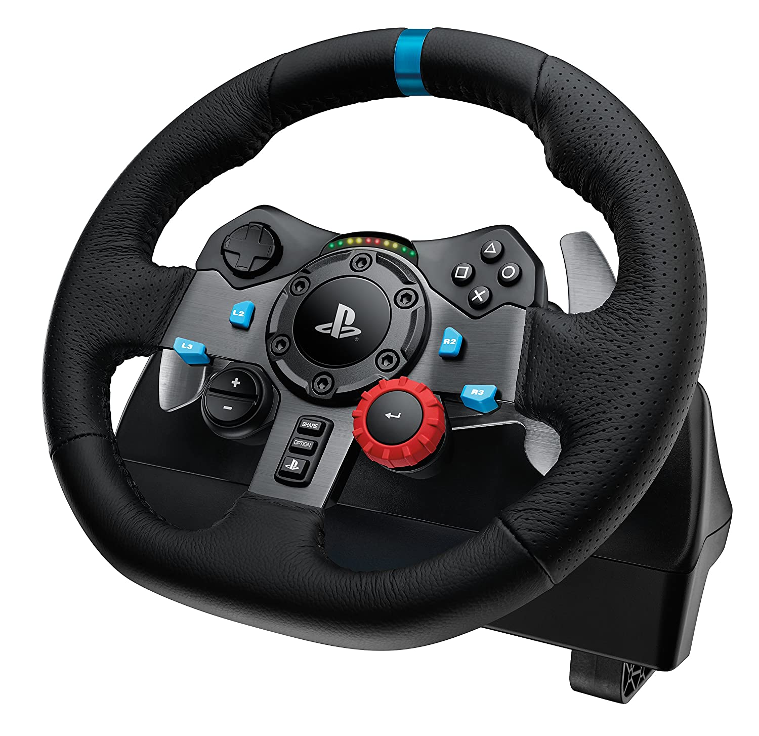 amazon com logitech driving force g29 racing wheel for