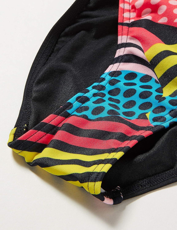 Speedo M/ädchen Dazzlespark Digital Placement Leaderback Badeanzug
