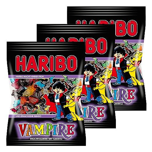 Haribo Vampire, Gominolas gusanos, Vampiri, Alla fruta, 3 ...