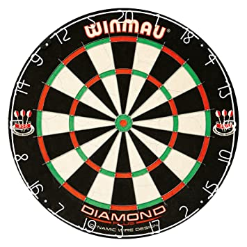 Winmau Diamond Plus Dartboard Amazoncouk Sports Outdoors