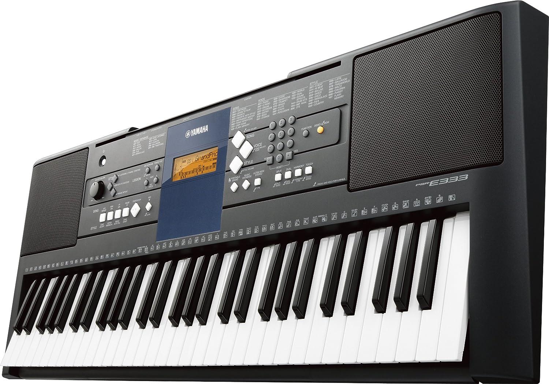 Yamaha PSR-E333 Teclado electrónico de 61 teclas sensibles al tacto: Amazon.es: Informática