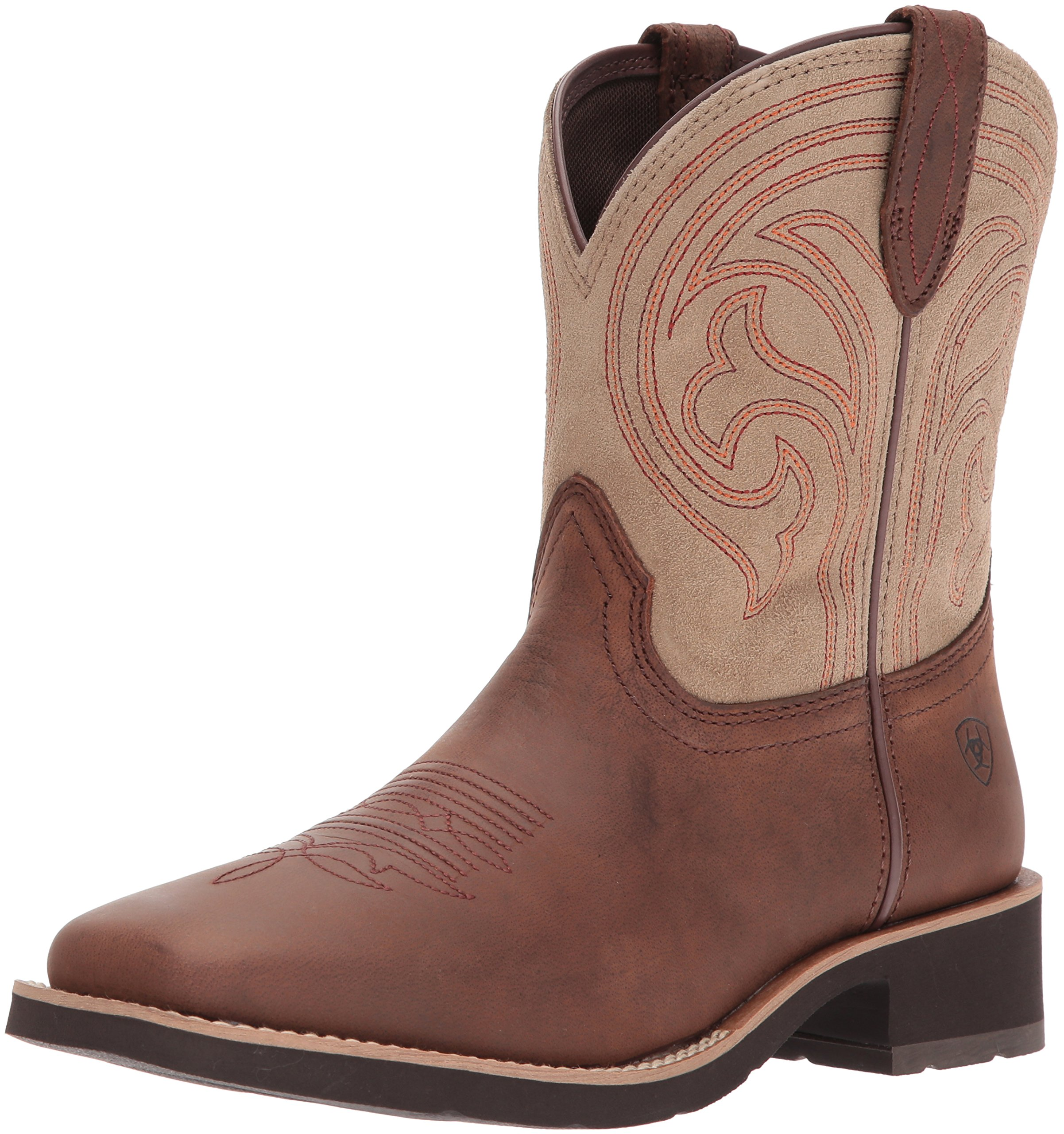 Ariat Women's Shawnee Work Boot, Matte Brown, 10 B US