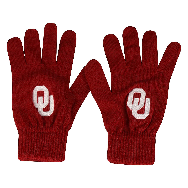 【送料無料/即納】  Oklahoma World Sooners公式NCAA 1つサイズニットグローブチームロゴby Top Top of Oklahoma the World 021175 B01L9WXZN6, モアスポーツ:e801a02e --- 4x4.lt