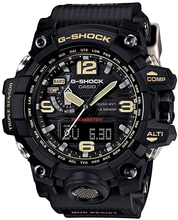 Casio Men's G-Shock GWG-100-1A8 Mudmaster