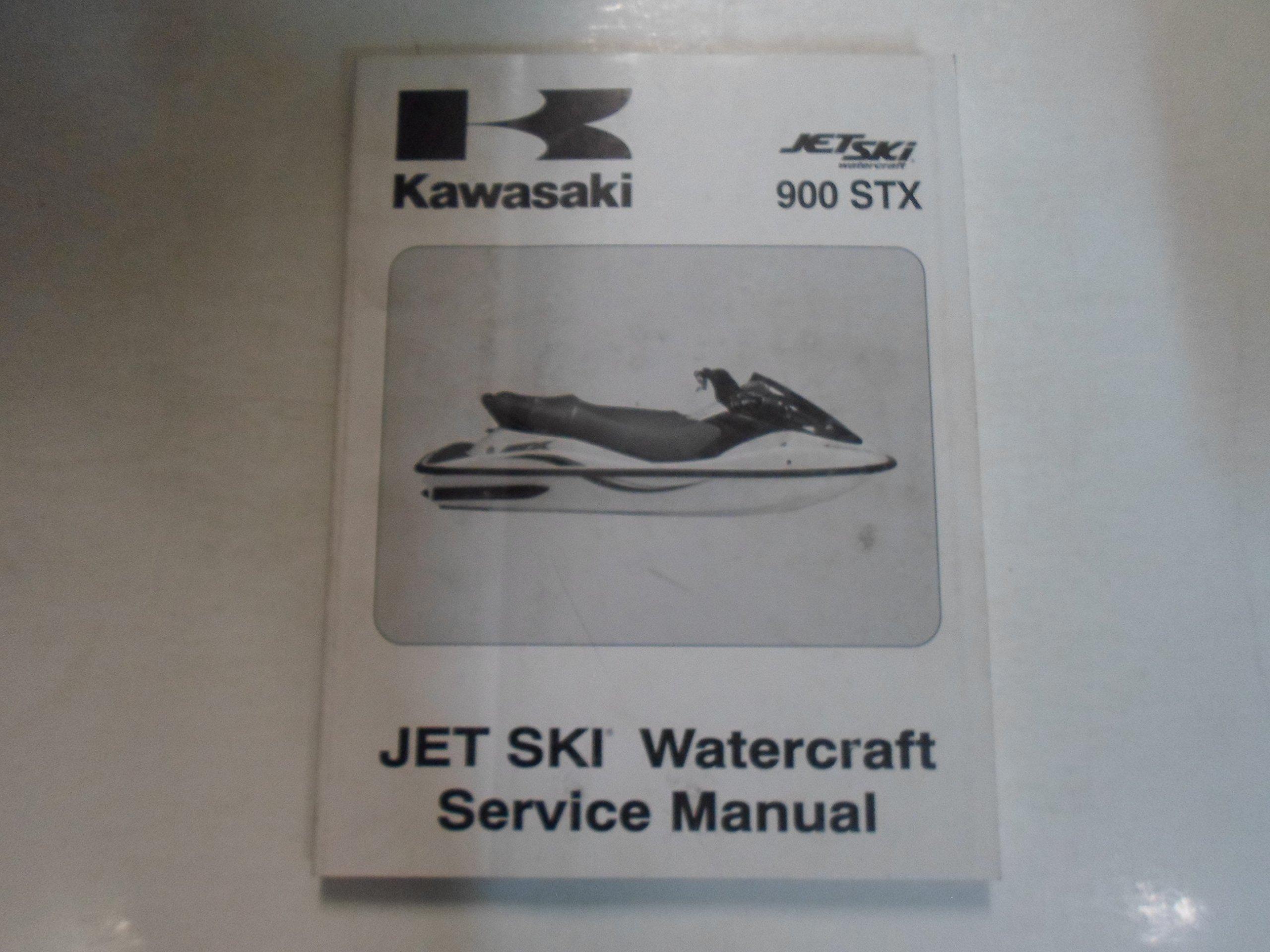 2003 Kawasaki 900 STX Jet Ski Watercraft Service Repair Manual STAINED:  KAWASAKI: Amazon.com: Books