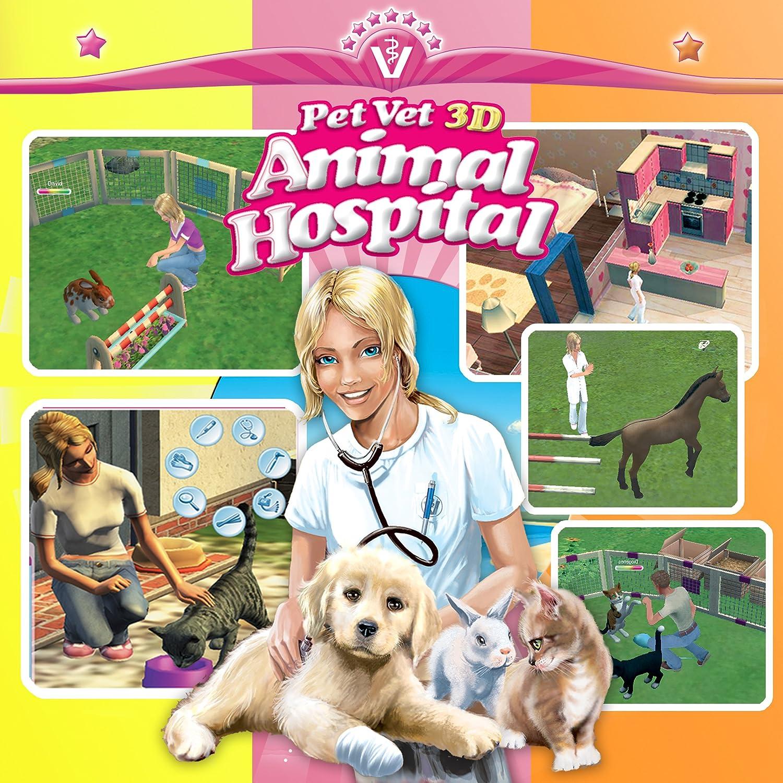 amazon com pet vet 3d animal hospital triple treat download