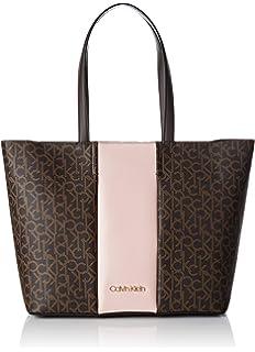 cf6fce9870 Calvin Klein Jeans Collegic Shopper - Borse a spalla Donna, Nero ...