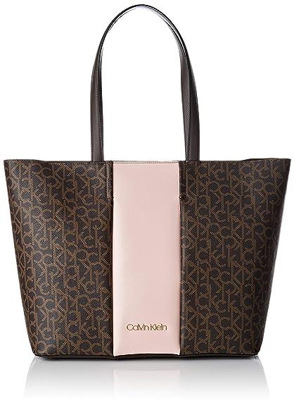 Mujer Y Block Bolsos De Klein Mono Calvin Shopper Shoppers Hombro WEH2D9IYe