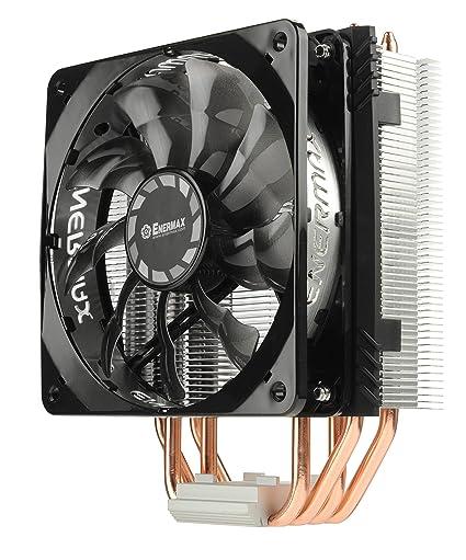 30a92751e11 Enermax ETS-T40F-TB Fit Series CPU Cooler 200W Intel/AMD 120mm Fan -  Black/Silver: Amazon.ca: Computers & Tablets