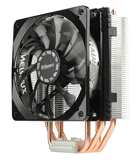 cdd5ed4194d Amazon.com: Enermax ETS-T40 Fit Outstanding Cooling Performance CPU Cooler  200W Intel/AMD 120mm Fan - Black/Silver, ETS-T40F-TB: Computers &  Accessories