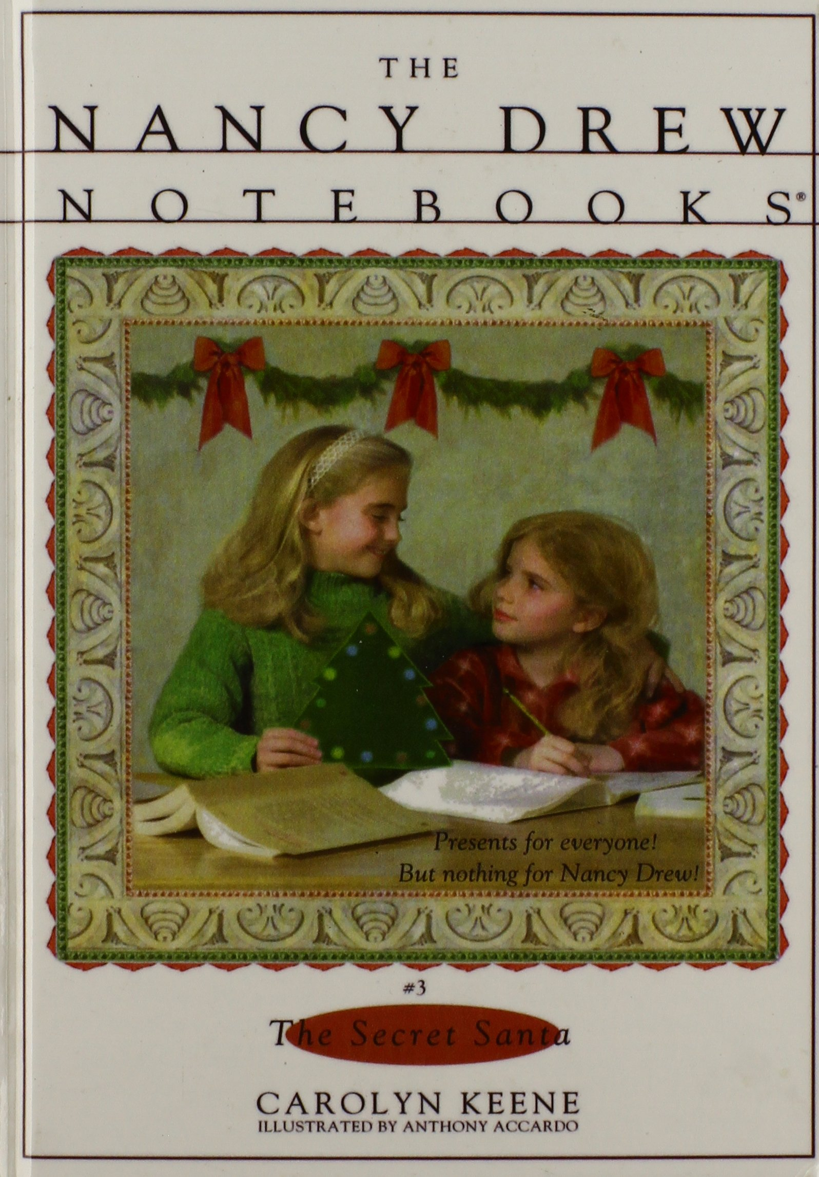 Download The Secret Santa (Nancy Drew Notebooks) pdf