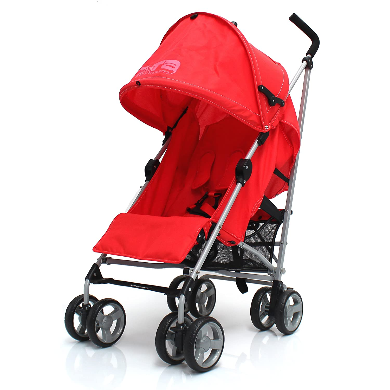 ZeTa Vooom Stroller Buggy Pushchair ( Many Colours Available ) Inc Raincover (Ocean) Baby Travel